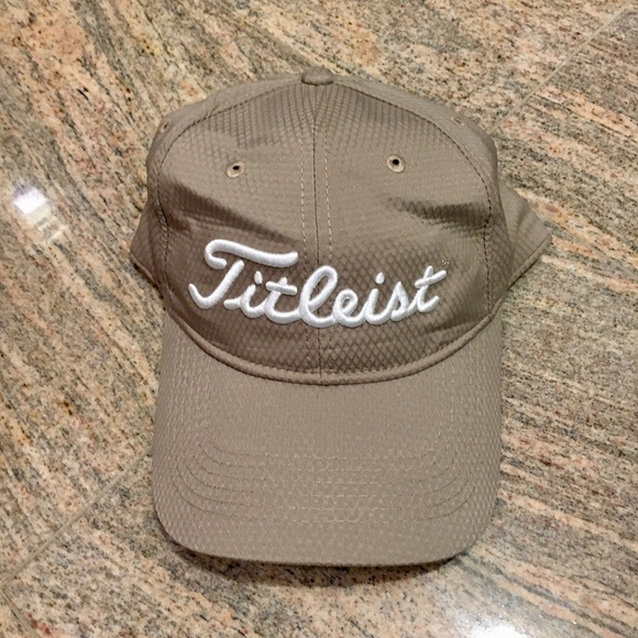 Titleist Khaki Adjustable Hat